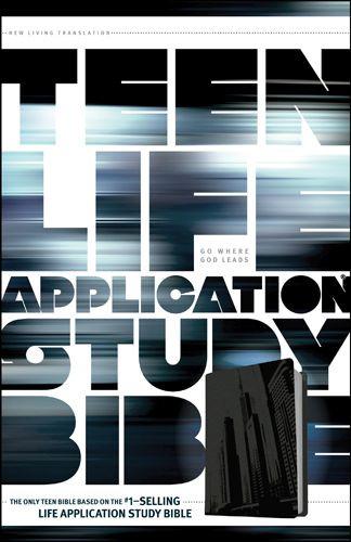 NLT Teen Life Application Study Bible (LeatherLike, Steel) - LeatherLike Steel With ribbon marker(s)
