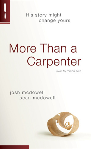 More Than a Carpenter - Softcover