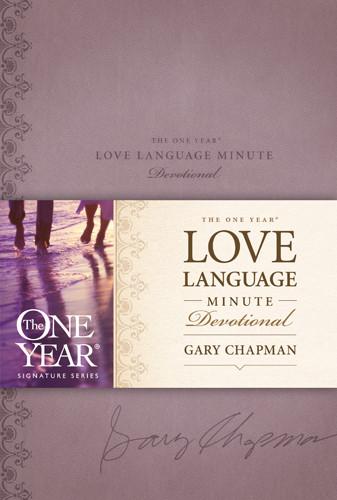 The One Year Love Language Minute Devotional - LeatherLike