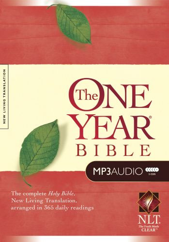 The One Year Bible NLT, MP3 (Audio CD) - CD-Audio