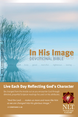 In His Image Devotional Bible NLT (Softcover) - Softcover