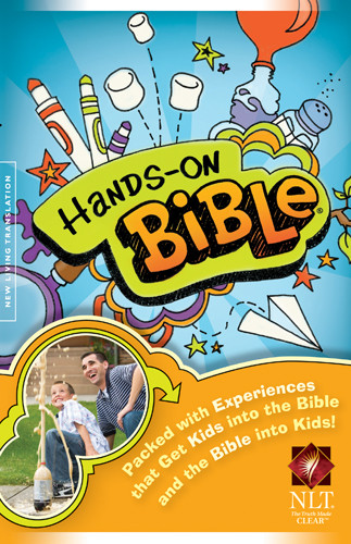 Hands-On Bible NLT (Hardcover) - Hardcover