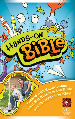 Hands-On Bible NLT - Softcover