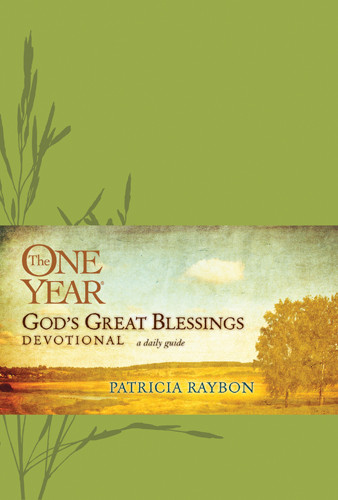 The One Year God's Great Blessings Devotional - LeatherLike