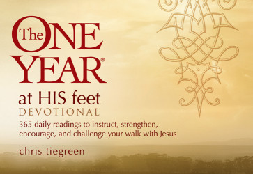 The One Year At His Feet Devotional - Softcover