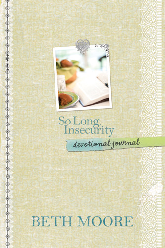 So Long, Insecurity Devotional Journal - Hardcover