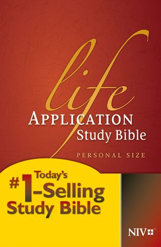 NIV Life Application Study Bible, Second Edition, Personal Size (Hardcover) - Hardcover