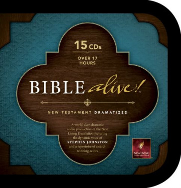 Bible Alive! New Testament (Audio CD, Black) - CD-Audio Black With zip fastener