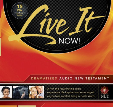 Live It Now! Dramatized Audio New Testament (Audio CD, Black) - CD-Audio Black With zip fastener