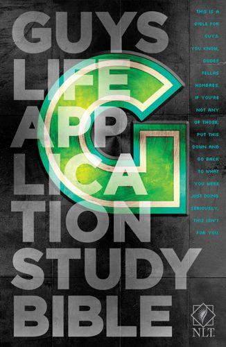 NLT Guys Life Application Study Bible (Hardcover) - Hardcover