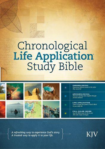 KJV Chronological Life Application Study Bible (Hardcover) - Hardcover