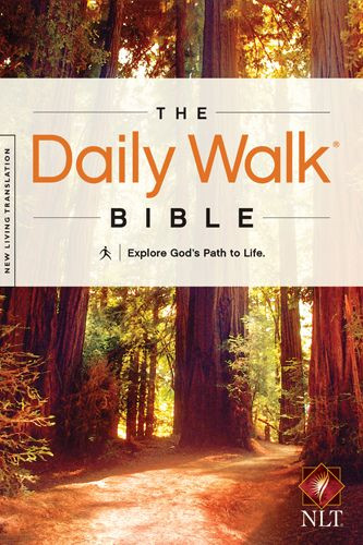 The Daily Walk Bible NLT (Softcover) - Softcover