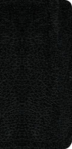 Nuevo Testamento con Salmos y Proverbios NTV, Edición bolsillo ultrafina (Vinil, Negro) - Softcover Black