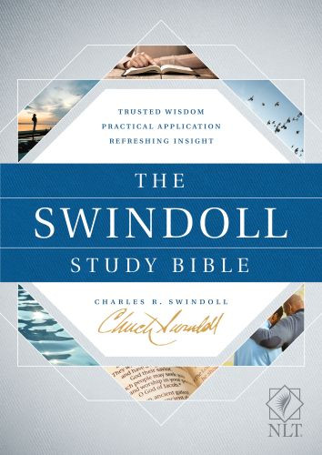 The Swindoll Study Bible NLT (Hardcover) - Hardcover