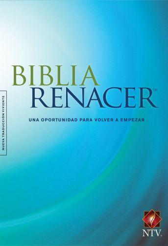 Biblia Renacer NTV (Tapa dura, Azul) - Hardcover Blue