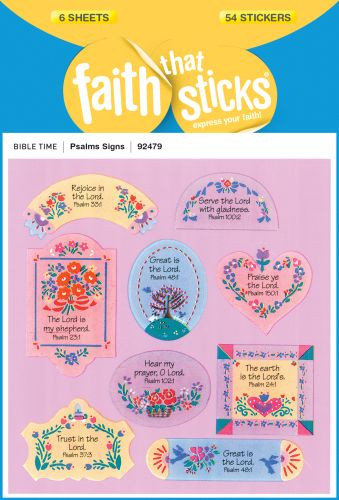 Psalms Signs - Stickers
