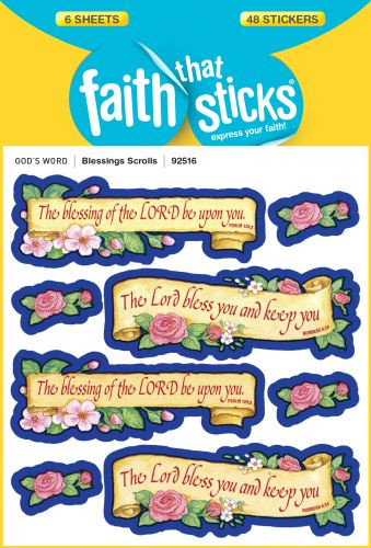 Blessings Scrolls - Stickers