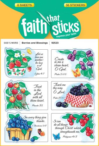 Berries and Blessings - Stickers