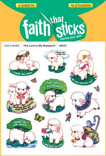 The Lord Is My Shepherd - Stickers