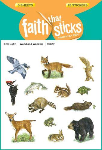 Woodland Wonders - Stickers