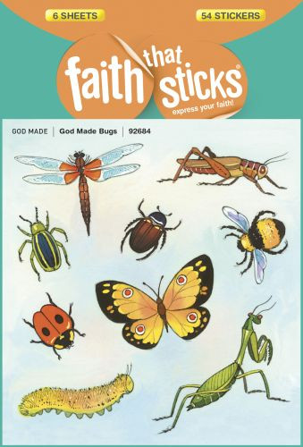 God Made Bugs - Stickers