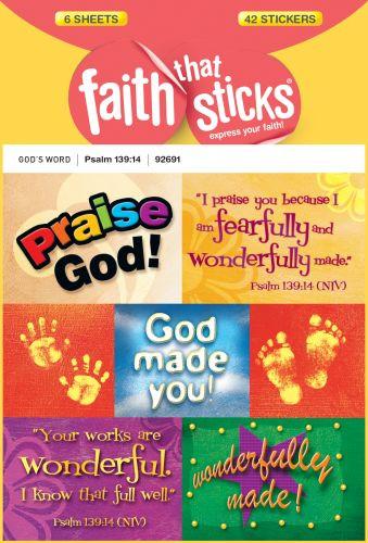 Psalm 139:14 - Stickers