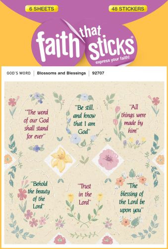 Blossoms and Blessings - Stickers