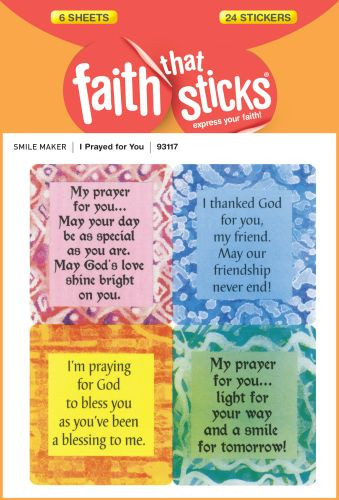 I Prayed for You - Stickers