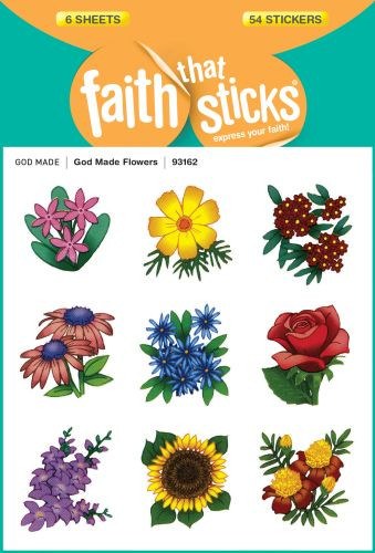 God Made Flowers - Stickers