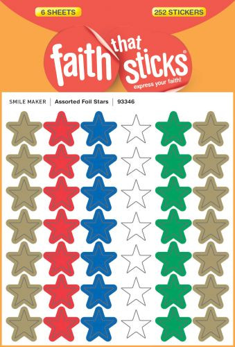Assorted Foil Stars - Stickers