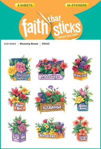 Blessing Boxes - Stickers