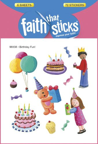 Birthday Fun! - Stickers