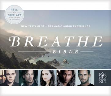 Breathe Bible New Testament NLT Audio CD (Audio CD) - CD-Audio