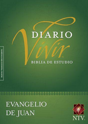 Biblia de estudio del diario vivir NTV, Evangelio de Juan  - Softcover