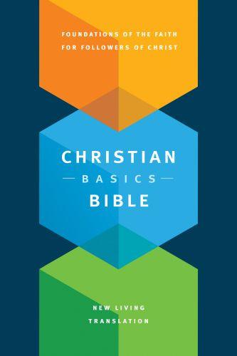 Christian Basics Bible NLT (Hardcover) - Hardcover With ribbon marker(s)