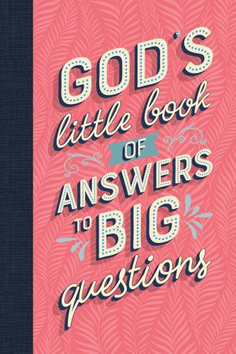 God's Little Book of Answers to Big Questions - Hardcover