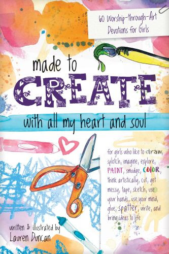 Made to Create with All My Heart and Soul - Softcover