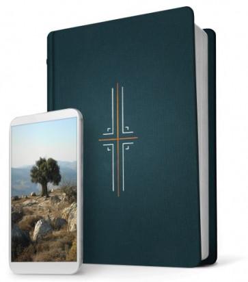 Filament Bible NLT (Hardcover Cloth, Midnight Blue) - Hardcover Midnight Blue Cloth With ribbon marker(s)