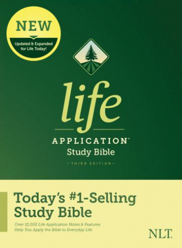 NLT Life Application Study Bible, Third Edition (Hardcover) - Hardcover With printed dust jacket