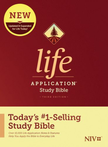 NIV Life Application Study Bible, Third Edition (Hardcover) - Hardcover With printed dust jacket