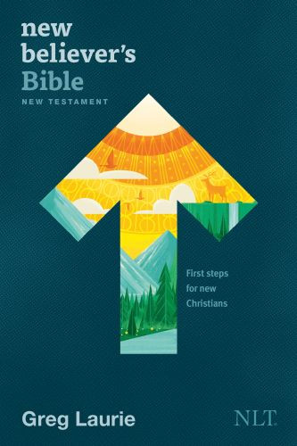 New Believer's Bible New Testament NLT (Softcover) - Softcover