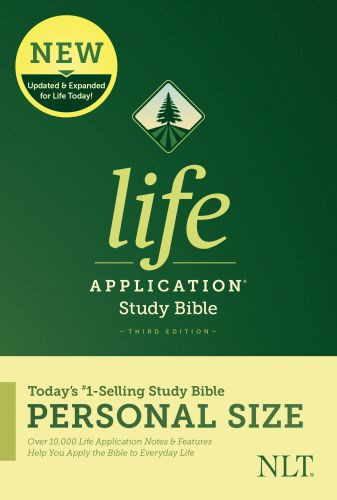NLT Life Application Study Bible, Third Edition, Personal Size (Hardcover) - Hardcover With printed dust jacket