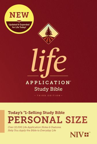 NIV Life Application Study Bible, Third Edition, Personal Size (Softcover) - Softcover