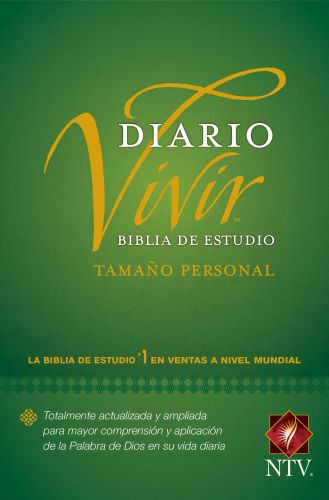 Biblia de estudio del diario vivir NTV, tamaño personal (Letra Roja, Tapa rústica) - Softcover
