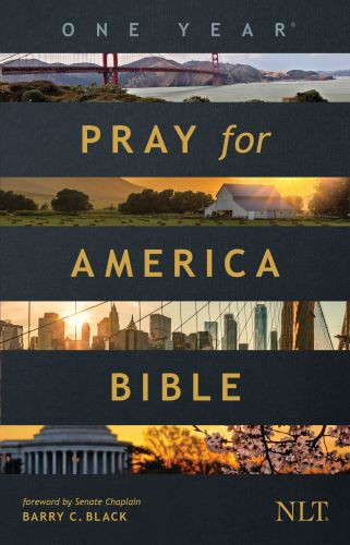 The One Year Pray for America Bible NLT (Softcover) - Softcover / softback