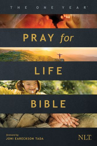 The One Year Pray for Life Bible NLT  (Softcover) - Softcover