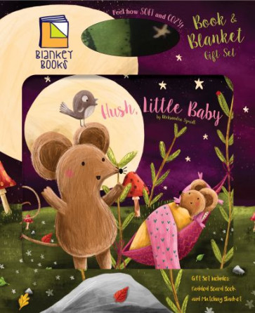 Hush, Little Baby, with Blanket - Board book
