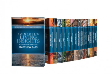 Swindoll's Living Insights New Testament Complete Set - Hardcover