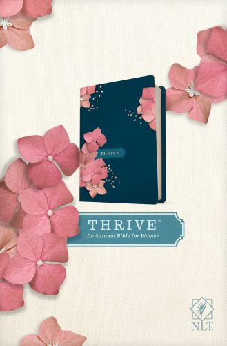 NLT THRIVE Devotional Bible for Women (Hardcover) - Hardcover With ribbon marker(s)
