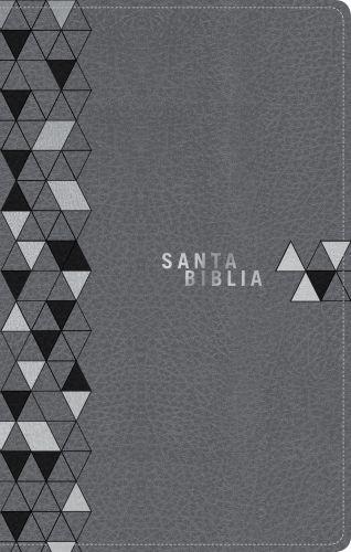 Santa Biblia NTV, Edición zíper, Gris suave (SentiPiel) - LeatherLike With zip fastener